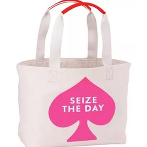 Kate Spade New York Seize the Day canvas tote